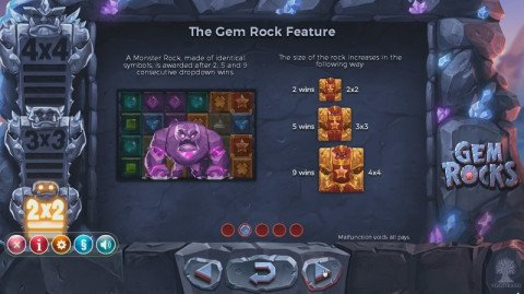 Gem Rocks bonus