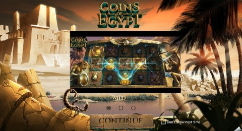 Coins of Egypt intro