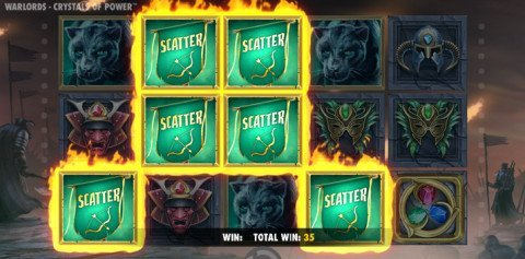 Warlords gratis spins