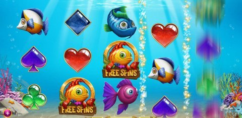 Golden Fish Tank gratis spins