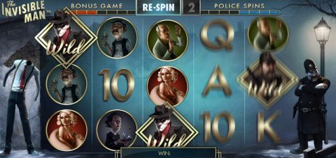 The Invisible Man gratis spins