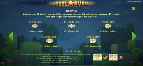 Reel Rush spins