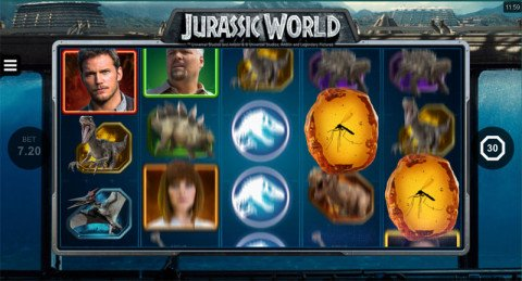 Jurassic World gokkast