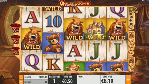 Goldilocks gratis spins