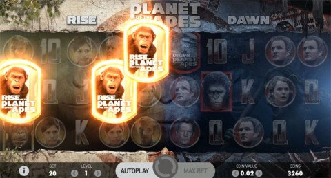Planet of the Apes gokkast